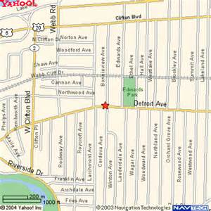 Map Of Lakewood Ohio by How To Get To Daystar Boutique