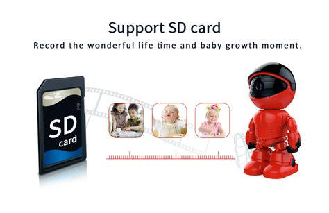 Smart Interface Cctv With Vertical Motor 360 degree wifi smart baby monitor