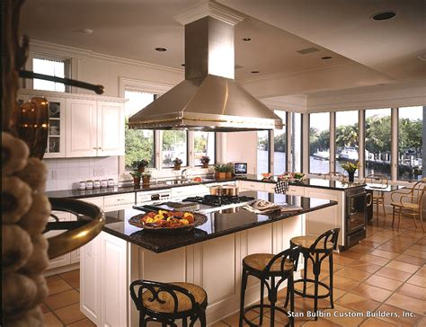 Kitchens With Islands Images by Kitchen Island With Stove Top Kitchen Traditional With