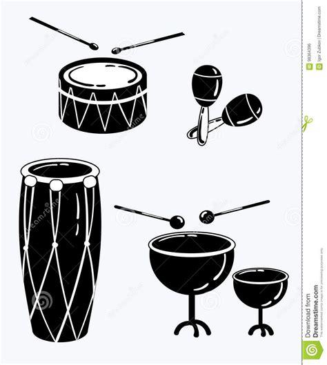 clipart strumenti musicali strumenti musicali stilizzati illustrazioni vettoriali e