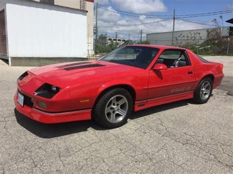 1989 camaro z28 for sale 1989 chevrolet iroc z28 camaro l98 5 7l for sale