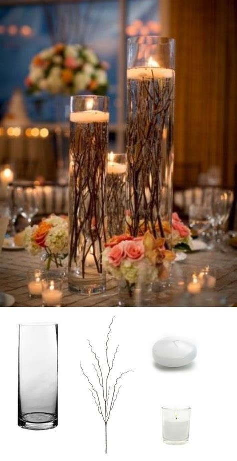diy branch wedding centerpieces best 20 floating candle centerpieces ideas on