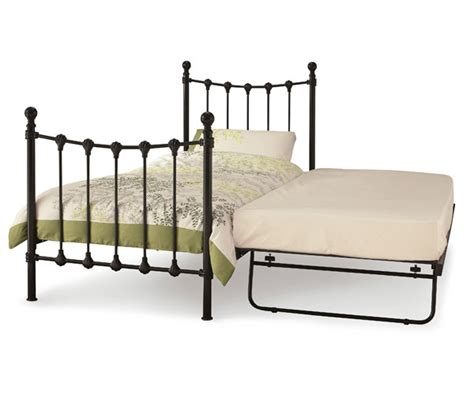 Bed Frames Only Buy Serene Marseilles 3ft Single Metal Guest Bed Frame Only Bedstar Co Uk Bedstar