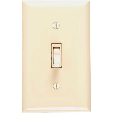 toggle dimmer light switch ge toggle on off dimmer switch ivory 52131 the home depot
