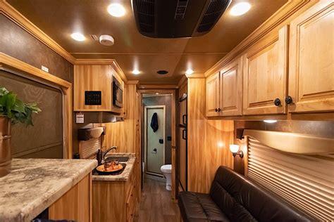 living quarters horse trailers escape 7210 7310 7410 lq