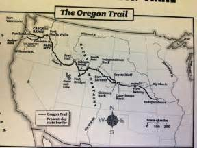 The Oregon Trail Map by Homework Miss Griffin S 5th Grade