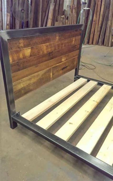 industrial bed frame as 25 melhores ideias de industrial bed frame no pinterest plataforma para camas