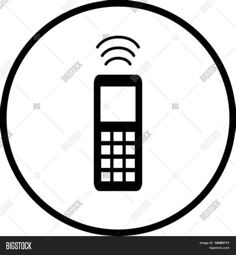 imagenes para celular hechas con simbolos vector y foto s 237 mbolo de tel 233 fono celular bigstock