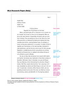 research template mla research paper exle 5 free templates in pdf word