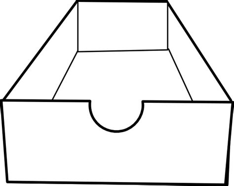 Box Outline Clip by Box Clip At Clker Vector Clip Royalty Free Domain