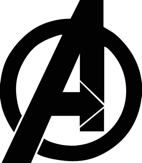 logo clipart symbol clipart avenger pencil and in color symbol