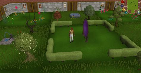 formal garden runescape hedge the runescape wiki