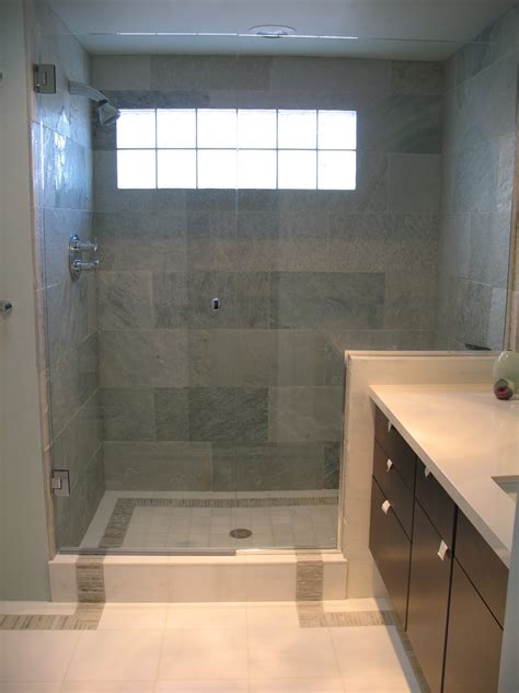 Bathroom Shower Floor Tile 30 Shower Tile Ideas On A Budget