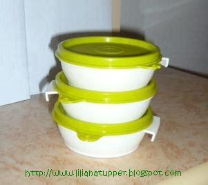 Tupperware Clip On Bowl liliana s tupperware item limited edition yg hadir kembali