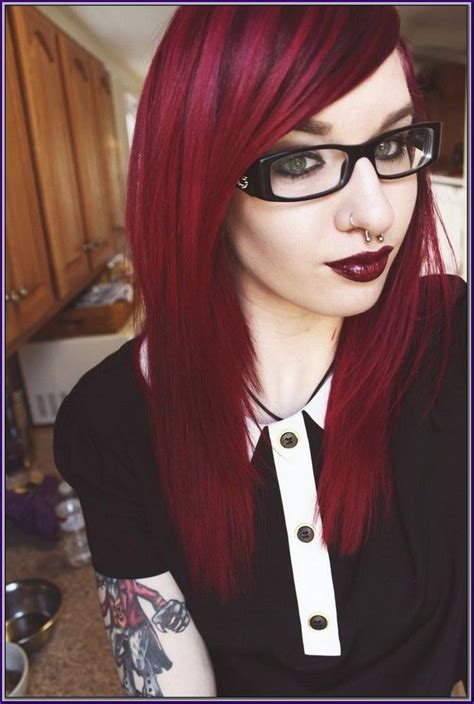 cherry hair color 17 best ideas about black cherry hair dye on