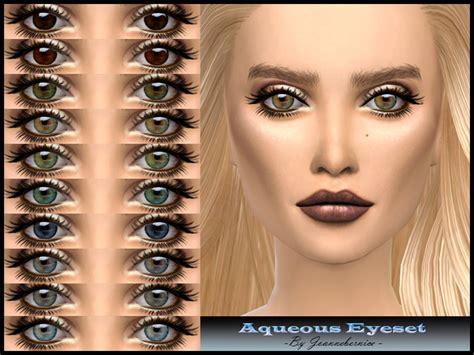 sims 4 realistic eyes joannebernice s aqueous eyeset