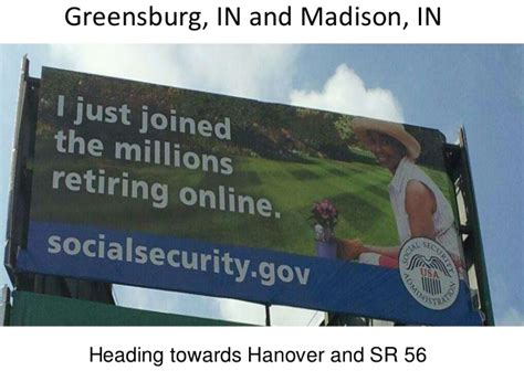 Social Security Office Greensburg Pa by Social Security Outdoor Billboard Psa Caign