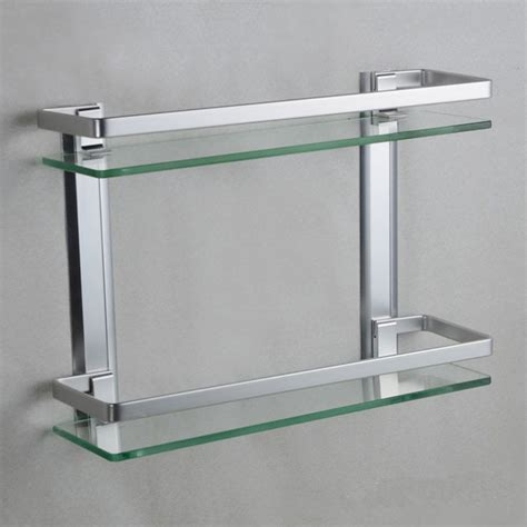 wall mounted bathroom shelves aluminum 35cm shelves wall mounted bathroom