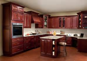 nice What Kind Of Paint For Kitchen Cabinets #5: Cherry-Kitchen-Cabinets-With-Granite-Countertops.jpg