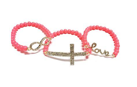 viral light pink shoo totally viral rm5 rainbow bracelet light pink
