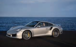 Turbo S Porsche 2014 Porsche 911 Turbo S Side