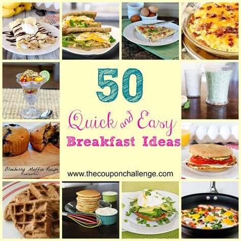 And Easy Ideas To Give You An Instant Lift - easy breakfast ideas