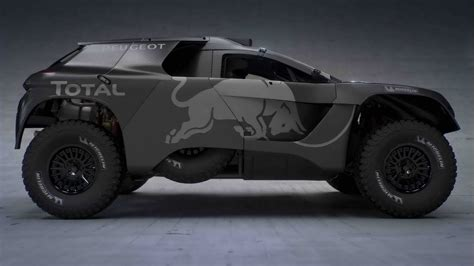 peugeot dakar peugeot 2008 dkr gets bigger and more powerful for 2016
