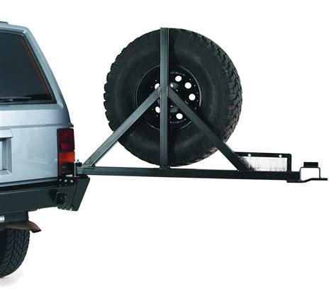 Jeep Xj Rear Tire Carrier Warn 66355 Bumper Tire Carrier For Use W Pn 65800 Rear