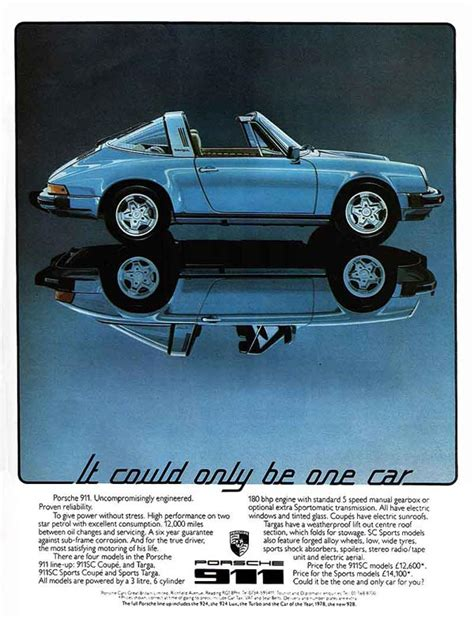 vintage porsche ad porsche car ad ads