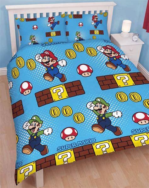 super mario pillowcase nintendo mario brothers duvet quilt cover pillowcase bedding set