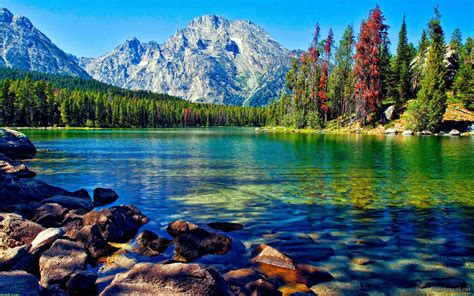 Free Awesome Wallpapers For Desktop by Awesome Lake With Mountain Wallpaper For Desktop