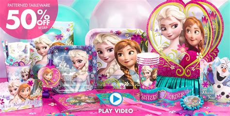 frozen party supplies  party city coupons