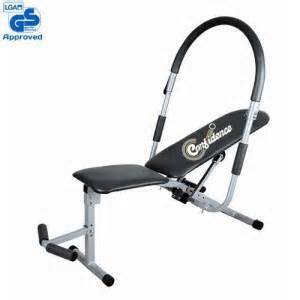 un banc 224 abdominaux ou un banc de musculation pliable