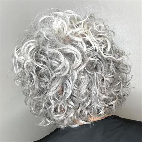 best perm for gray hair 25 best ideas about short permed hairstyles on pinterest