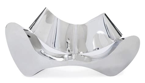 ron arad stainless steel sofa ron arad b 1951 d a mirror polished stainless steel