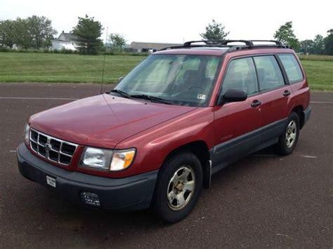 subaru forester station wagon find used subaru forester 1998 177 016 auto