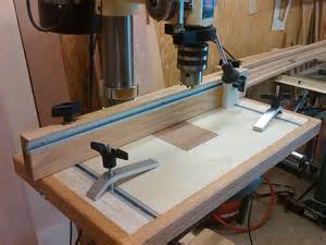 table pressing drill press table with table drilling jig by vincent
