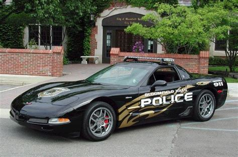 police corvette the fastest coolest police cars in the world autofoundry