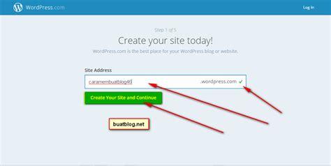 cara membuat blog gratis dengan wordpress cara membuat blog gratis di wordpress dengan mudah dan