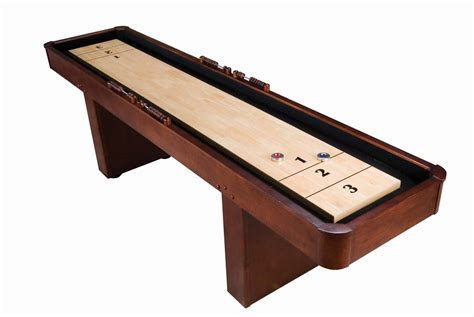 best wood for shuffleboard table 9 level best shuffleboard traditional mahogany
