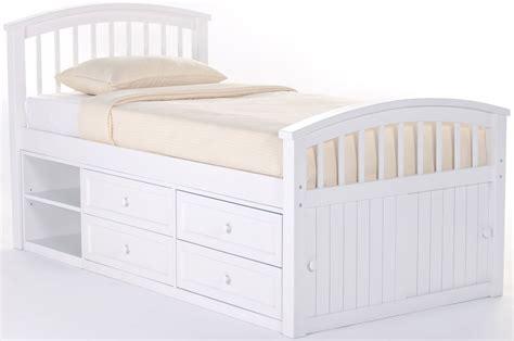 white panel bed school house white captain twin panel bed 7070n ne kids
