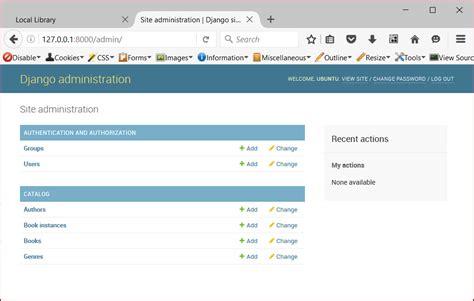 django widgets tutorial django tutorial part 4 django admin site learn web