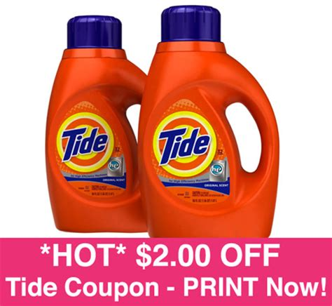 tide printable coupons 2 00 off high value 2 00 off tide coupon print now