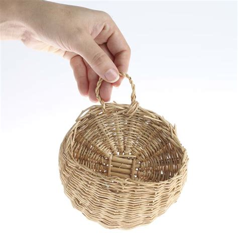 home decor baskets small wall wicker basket baskets buckets boxes