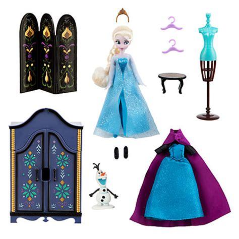 Play Doll Closet by Elsa Wardrobe Set Frozen Mini Doll Olaf Clothes Shoes Cape Nib Nwt Disney Store Ebay