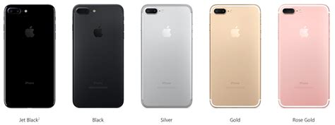 7 iphone colors which color iphone 7 or iphone 7 plus should you buy black jet black gold gold or silver