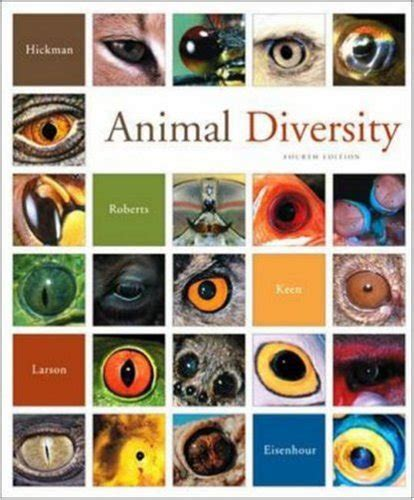 animal diversity books cheapest copy of animal diversity by jr cleveland hickman