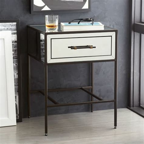 Mirrored Nightstand Sales by Mirrored Nightstand West Elm