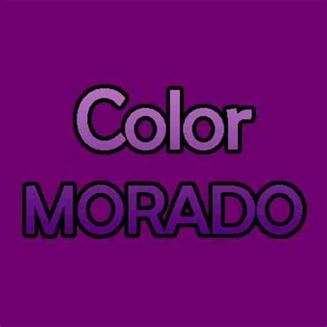 what color is morado significado color morado
