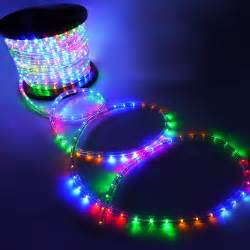 outdoor blue led lights 150 039 2 wire rgb green blue led rope light outdoor